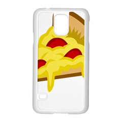 Pasta Salad Pizza Cheese Samsung Galaxy S5 Case (white)