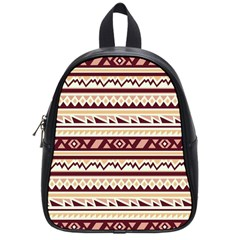 Pattern Tribal Triangle School Bags (small)