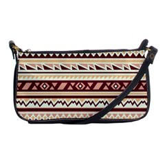 Pattern Tribal Triangle Shoulder Clutch Bags by Alisyart