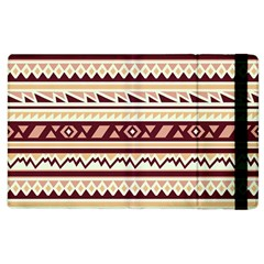 Pattern Tribal Triangle Apple Ipad 2 Flip Case by Alisyart