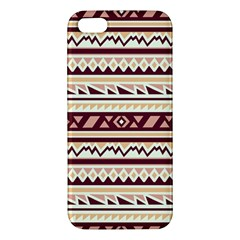 Pattern Tribal Triangle Apple Iphone 5 Premium Hardshell Case by Alisyart