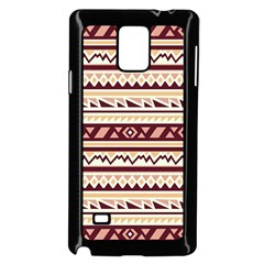 Pattern Tribal Triangle Samsung Galaxy Note 4 Case (black)