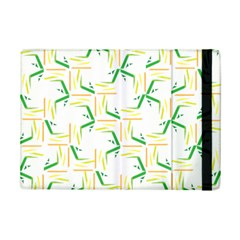 Patterns Boomerang Line Chevron Green Orange Yellow Ipad Mini 2 Flip Cases by Alisyart