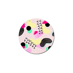 Pink Circle Red Pattern,sexy Golf Ball Marker (10 Pack)