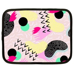 Pink Circle Red Pattern,sexy Netbook Case (xxl)  by Alisyart