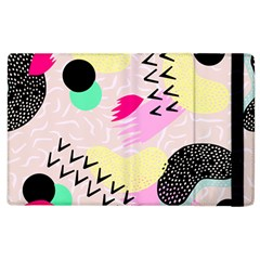 Pink Circle Red Pattern,sexy Apple Ipad 3/4 Flip Case by Alisyart