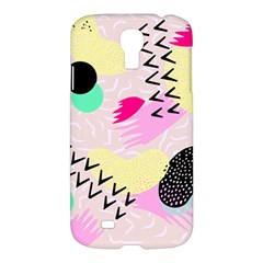 Pink Circle Red Pattern,sexy Samsung Galaxy S4 I9500/i9505 Hardshell Case by Alisyart