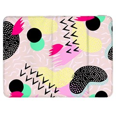 Pink Circle Red Pattern,sexy Samsung Galaxy Tab 7  P1000 Flip Case by Alisyart
