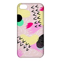 Pink Circle Red Pattern,sexy Apple Iphone 5c Hardshell Case by Alisyart