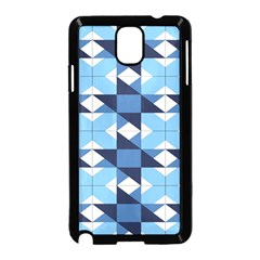 Radiating Star Repeat Blue Samsung Galaxy Note 3 Neo Hardshell Case (black)