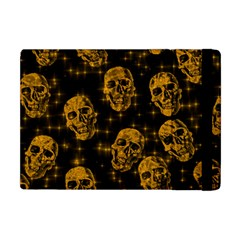 Sparkling Glitter Skulls Golden Apple Ipad Mini Flip Case by ImpressiveMoments
