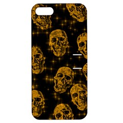 Sparkling Glitter Skulls Golden Apple Iphone 5 Hardshell Case With Stand by ImpressiveMoments