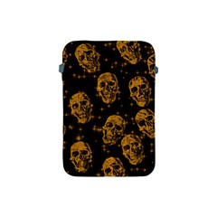 Sparkling Glitter Skulls Golden Apple Ipad Mini Protective Soft Cases by ImpressiveMoments
