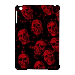 Sparkling Glitter Skulls Red Apple Ipad Mini Hardshell Case (compatible With Smart Cover) by ImpressiveMoments