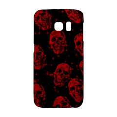Sparkling Glitter Skulls Red Galaxy S6 Edge by ImpressiveMoments