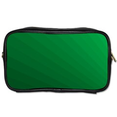 Green Beach Fractal Backdrop Background Toiletries Bags