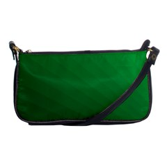 Green Beach Fractal Backdrop Background Shoulder Clutch Bags by Simbadda
