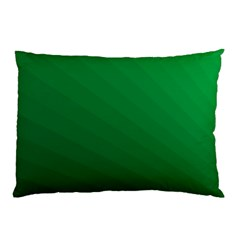 Green Beach Fractal Backdrop Background Pillow Case (two Sides) by Simbadda