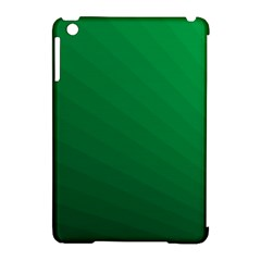 Green Beach Fractal Backdrop Background Apple Ipad Mini Hardshell Case (compatible With Smart Cover) by Simbadda