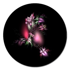 Colour Of Nature Fractal A Nice Fractal Coloured Garden Magnet 5  (round) by Simbadda