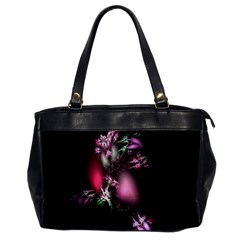 Colour Of Nature Fractal A Nice Fractal Coloured Garden Office Handbags by Simbadda
