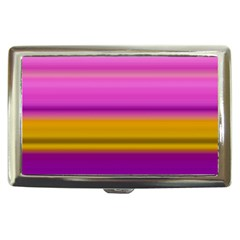 Stripes Colorful Background Colorful Pink Red Purple Green Yellow Striped Wallpaper Cigarette Money Cases by Simbadda