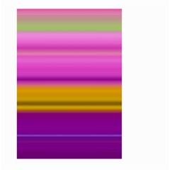 Stripes Colorful Background Colorful Pink Red Purple Green Yellow Striped Wallpaper Large Garden Flag (two Sides) by Simbadda