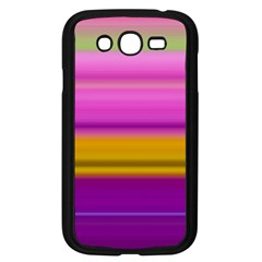 Stripes Colorful Background Colorful Pink Red Purple Green Yellow Striped Wallpaper Samsung Galaxy Grand Duos I9082 Case (black) by Simbadda
