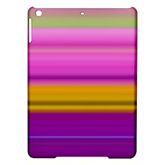 Stripes Colorful Background Colorful Pink Red Purple Green Yellow Striped Wallpaper Ipad Air Hardshell Cases