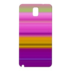 Stripes Colorful Background Colorful Pink Red Purple Green Yellow Striped Wallpaper Samsung Galaxy Note 3 N9005 Hardshell Back Case by Simbadda