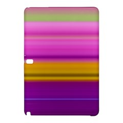 Stripes Colorful Background Colorful Pink Red Purple Green Yellow Striped Wallpaper Samsung Galaxy Tab Pro 12 2 Hardshell Case by Simbadda