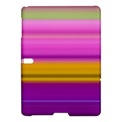 Stripes Colorful Background Colorful Pink Red Purple Green Yellow Striped Wallpaper Samsung Galaxy Tab S (10 5 ) Hardshell Case  by Simbadda