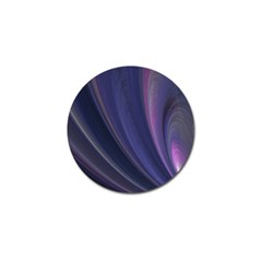 A Pruple Sweeping Fractal Pattern Golf Ball Marker (4 Pack) by Simbadda