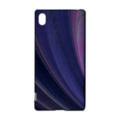 A Pruple Sweeping Fractal Pattern Sony Xperia Z3+ by Simbadda