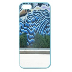 Mural Wall Located Street Georgia Usa Apple Seamless Iphone 5 Case (color)