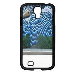Mural Wall Located Street Georgia Usa Samsung Galaxy S4 I9500/ I9505 Case (black) by Simbadda