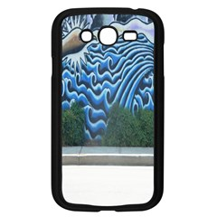 Mural Wall Located Street Georgia Usa Samsung Galaxy Grand Duos I9082 Case (black) by Simbadda
