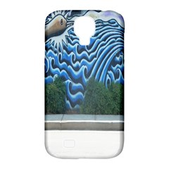 Mural Wall Located Street Georgia Usa Samsung Galaxy S4 Classic Hardshell Case (pc+silicone) by Simbadda