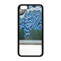Mural Wall Located Street Georgia Usa Apple Iphone 5c Seamless Case (black) by Simbadda