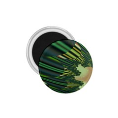 A Feathery Sort Of Green Image Shades Of Green And Cream Fractal 1 75  Magnets