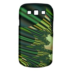 A Feathery Sort Of Green Image Shades Of Green And Cream Fractal Samsung Galaxy S Iii Classic Hardshell Case (pc+silicone) by Simbadda