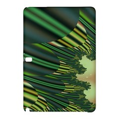 A Feathery Sort Of Green Image Shades Of Green And Cream Fractal Samsung Galaxy Tab Pro 12 2 Hardshell Case by Simbadda