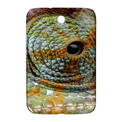 Macro Of The Eye Of A Chameleon Samsung Galaxy Note 8 0 N5100 Hardshell Case  by Simbadda