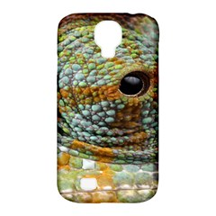 Macro Of The Eye Of A Chameleon Samsung Galaxy S4 Classic Hardshell Case (pc+silicone) by Simbadda