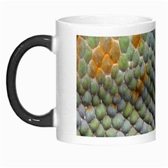 Macro Of Chameleon Skin Texture Background Morph Mugs