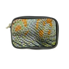 Macro Of Chameleon Skin Texture Background Coin Purse by Simbadda