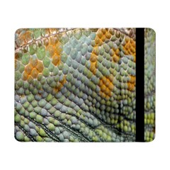 Macro Of Chameleon Skin Texture Background Samsung Galaxy Tab Pro 8 4  Flip Case