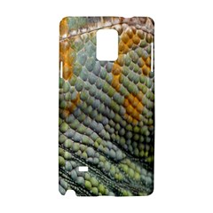 Macro Of Chameleon Skin Texture Background Samsung Galaxy Note 4 Hardshell Case