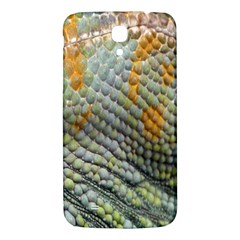 Macro Of Chameleon Skin Texture Background Samsung Galaxy Mega I9200 Hardshell Back Case by Simbadda