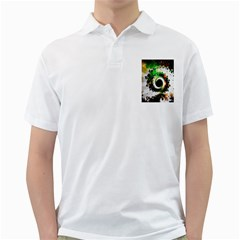 Fractal Universe Computer Graphic Golf Shirts
